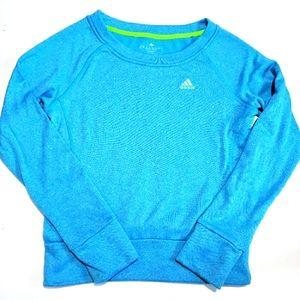 Adidas Light Blue Sweatshirt XS